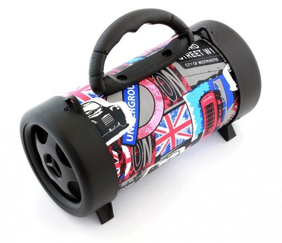 BOOMBOX BLUETOOTH MP3 RADIO TUBA