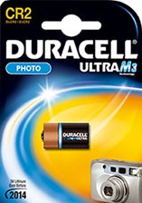 CR2 DURACELL BLISTER