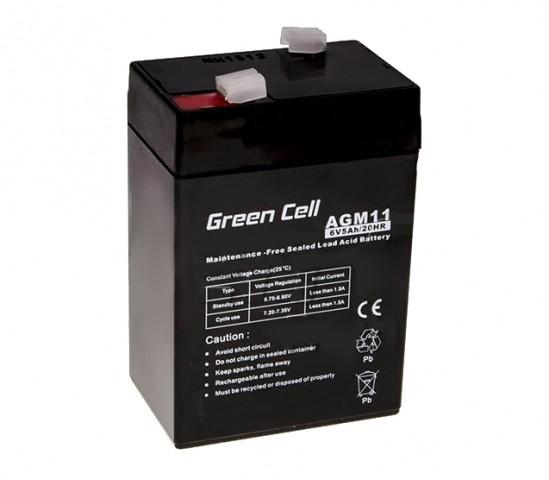 AKUM.6V 5AH GREEN CELL