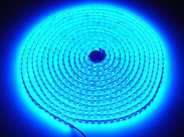 TASMA LED 3528 300/5 NIEBIESKA IP65