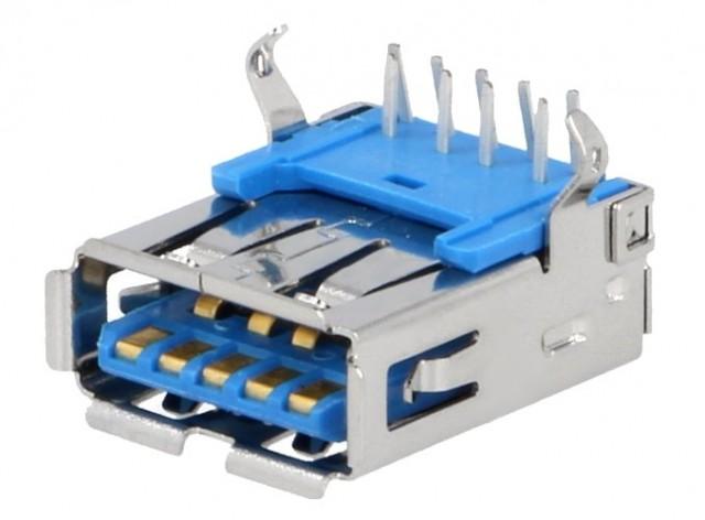 GNIAZDO USB 3,0 A PCB DS1095-05-LNR0