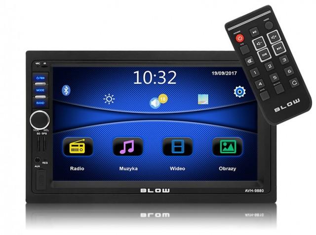 RADIO BLOW AVH-9880 2DIN 7 GPS
