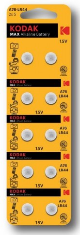 LR44 KODAK BAT.1,5V G13,LR1154,A76