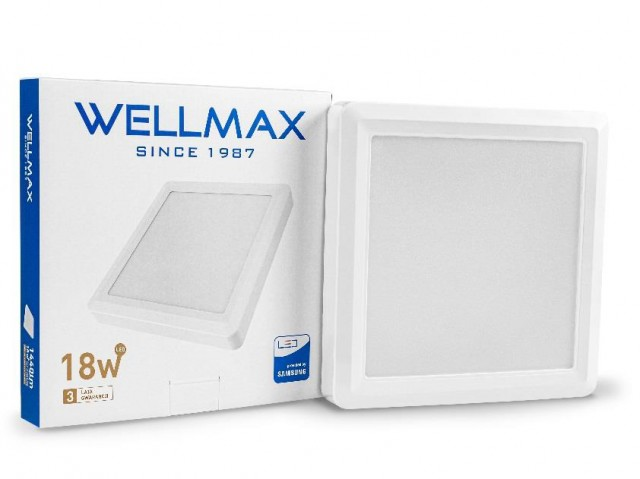 OPRAWA LED 18W WELLMAX SAMSUNG NAT.4000K