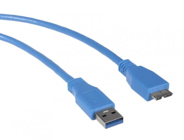 KABEL USB 3,0 MICRO 0,5M MACLEAN